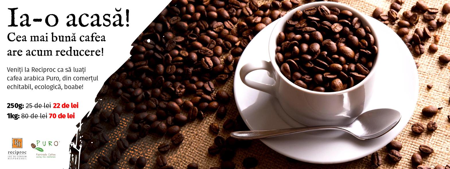 Promoție la cafea!